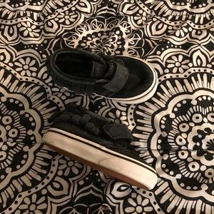 Vans high top sneakers shoes size 5 T